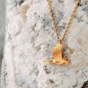 Gold Dove Necklace - necklaces & pendants