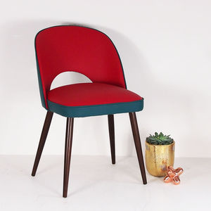 The New Fernandina Chair In Red And Teal Matara - shop by price