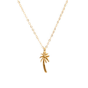 Palm Tree Necklace - necklaces & pendants