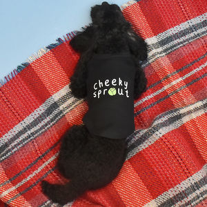 Personalised Sprout Pet Vest - pets christmas clothing
