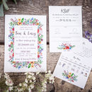 Blooming Colourful Wedding Stationery