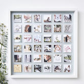 Personalised Framed Wedding Photo Print - gifts
