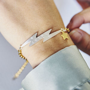 Personalised Electric Bracelet - gifts for her