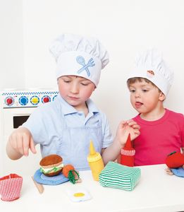 Soft Play Cooking And Food Set - traditional toys & games