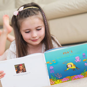 Personalised Sea Adventure Story Book