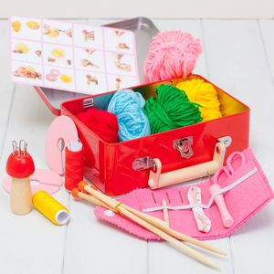 Childrens Knitting Kit - new in baby & child