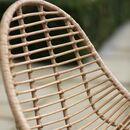 Bamboo Scoop Chairs Set