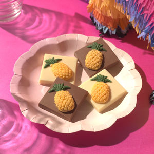 Chocolate Shaped Pineapples - edible favours