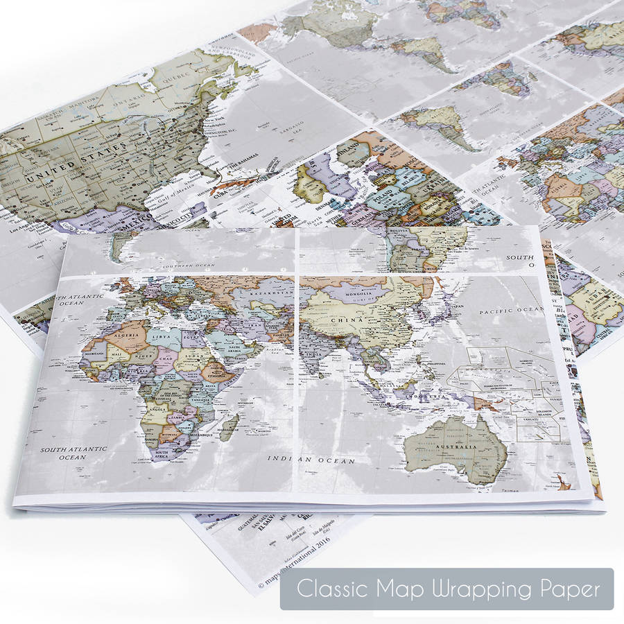 Motion world map poster by maps international notonthehighstreet motion world map poster gumiabroncs Choice Image