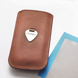 Leather Pick Pull – Card Case - card holder
