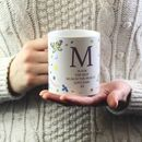 Personalised Butterfly Mug