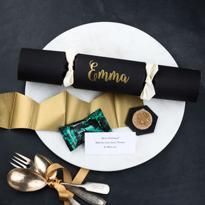 Personalised Gin And Tonic Christmas Cracker - personalised