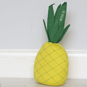 Personalised Pineapple Doorstop