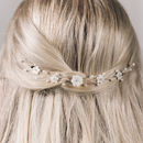Small Pearl Flower Wedding Hair Vine Phoebe