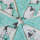 Counting Sheep Bb Mini Bunting
