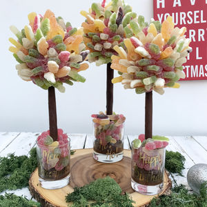 Personalised Fizzy Haribo Sweet Tree - children's parties