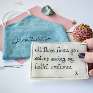 Keepsake Mother's Day Note - best mother's day gifts
