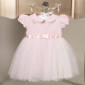 Pink Tulle Baby Girl Party Dress