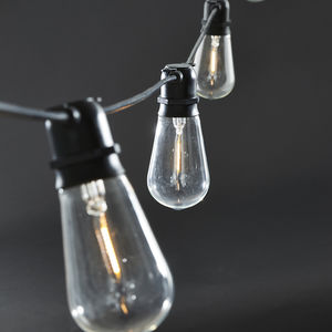 Festoon Indoor Outdoor Light Bulb Chain - summer sale