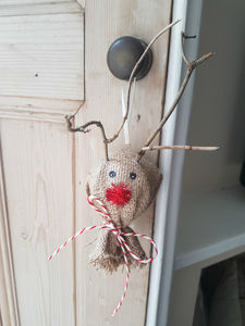 Twiggy The Reindeer Christmas Bauble - view all decorations