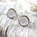 Vintage Compass Rose Cufflinks