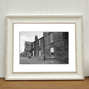 Cats In Window, King's Lynn Photographic Art Print