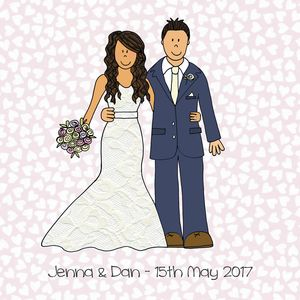 Personalised Wedding Or Anniversary Picture