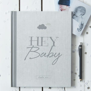 Baby Journal And Record Book New White Edition