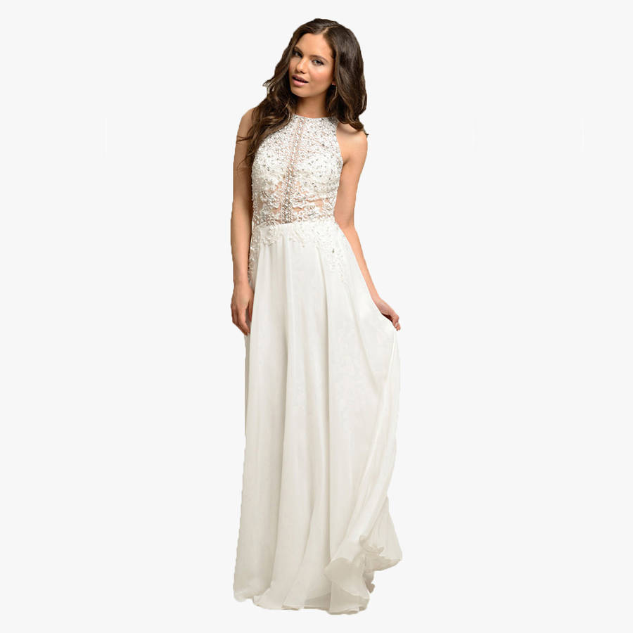 Bridal Belarina Long Dress