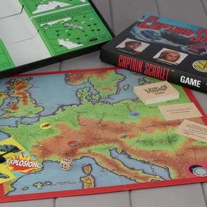 Captain Scarlet Board Game - traditional toys & games