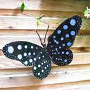 Blue Butterfly Garden Sculpture