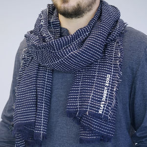 Personalised My Daddy Men's Scarf - hats, scarves & gloves