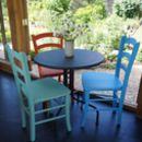 Italian Cafe Chair Hand Painted In Any Colour