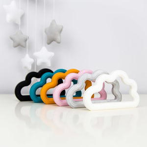 Silicone Cloud Teethers - gifts: under £25