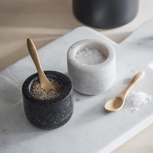 Marble And Granite Salt And Pepper Pots - salt & pepper pots
