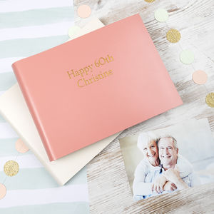 60th Birthday Album - albums & guest books