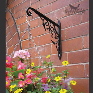 Art Nouveau Hanging Basket Bracket - art & decorations