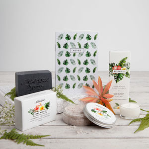 'The Botanical Box' Letterbox Gift Set - personalised gifts
