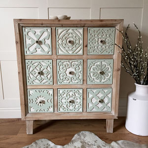Piana Nine Drawer Chest Of Drawers - furniture