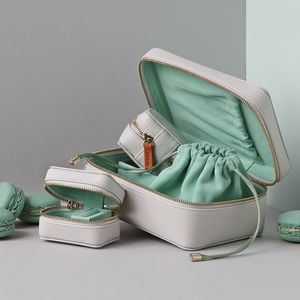 Personalised Soft Leather Travel Gift Set For Her - lust list
