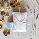 Floral Lavender Bag Gift Set Of Two, Dusky Lavender