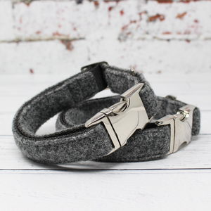 Dougal Harris Tweed Dog Collar