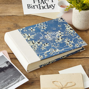 Photo Album Marbled Print