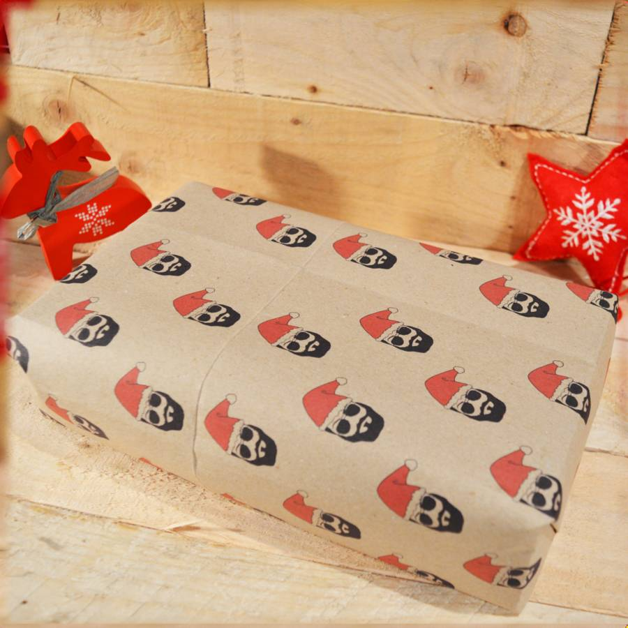 handmade beard christmas wrapping paper by good day organics notonthehighst. Black Bedroom Furniture Sets. Home Design Ideas