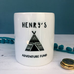 Adventure Fund Teepee Money Box