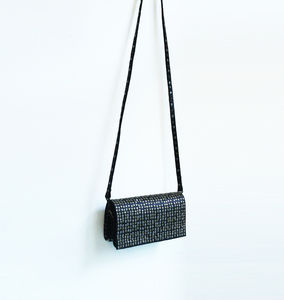 Leather Rivets Clutch - clutch bags