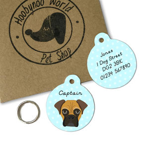 Bullmastiff Personalised Dog ID Tag - dogs