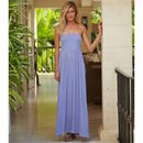 Lilia Bandeau Maxi Dress Cannes Lilac