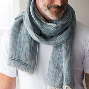 Personalised You Complete Our Family Scarf - men's accessories