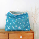 Sailboats Tall Pouch